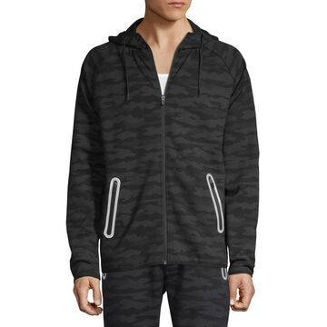 i jeans by Buffalo Mens Long Sleeve Fleece Lined Hoodie