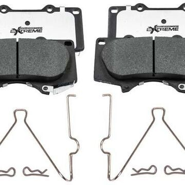 2020 Toyota Tacoma Power Stop Z36 Truck & Tow Brake Pads, Front Pads