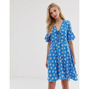 Y.A.S printed tea dress