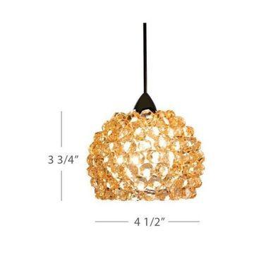 WAC Lighting MP-542 Gia 50 Watt Halogen Monopoint Pendant