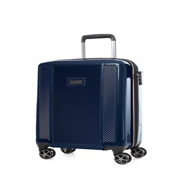 Bugatti Manchester Hard Side Carry-On Luggage, Blue, 20 Carryon