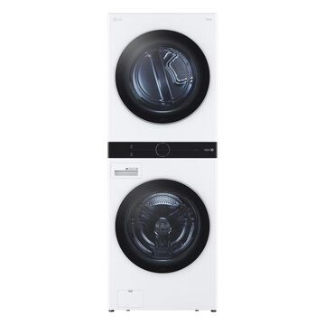 LG WashTower Electric Stacked Laundry Center with 4.5-cu ft Washer and 7.4-cu ft Dryer ENERGY STAR   WKE100HWA