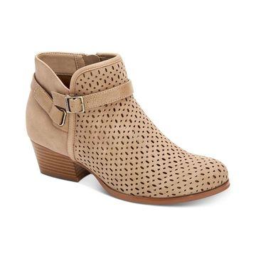 Giani Bernini Womens Dorii Almond Toe Ankle Fashion Boots