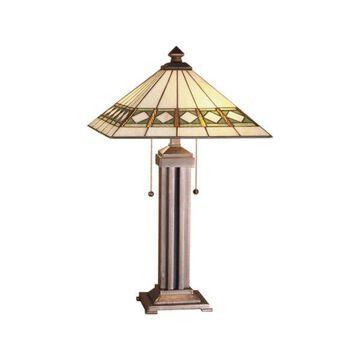 Meyda Tiffany 38689 Diamond Mission Table Lamp
