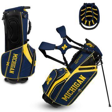 WinCraft Michigan Wolverines Caddie Carry Hybrid Golf Bag
