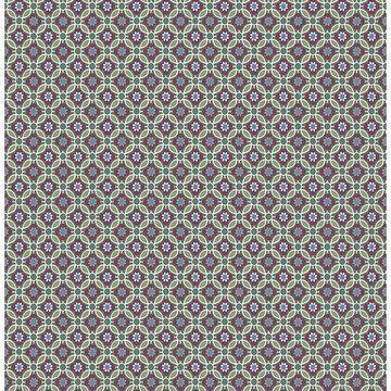 Brewster 2657-22246 Audra Purple Floral Wallpaper