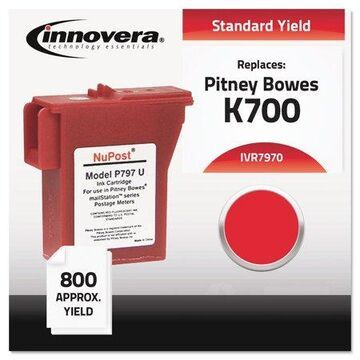 Innovera Compatible 797-0 Postage Meter Ink Red 7970