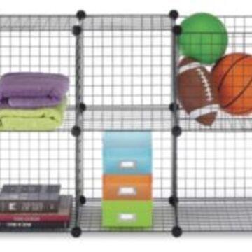 Whitmor Set of 6 Storage Cubes