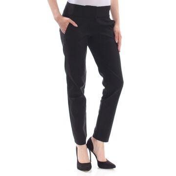 XOXO Womens Black Ankle Length Pants Juniors Size: 3