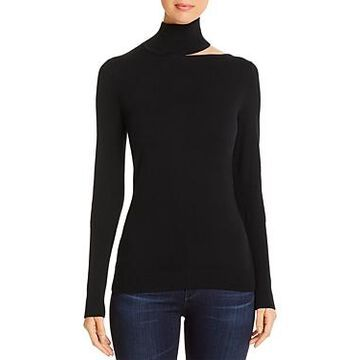 Elie Tahari Vita Shoulder-Cutout Sweater