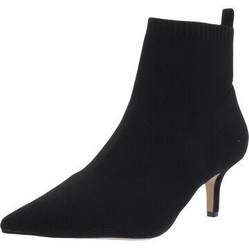 Corso Como Womens Daeyna Ankle Boots Knit Kitten Heel