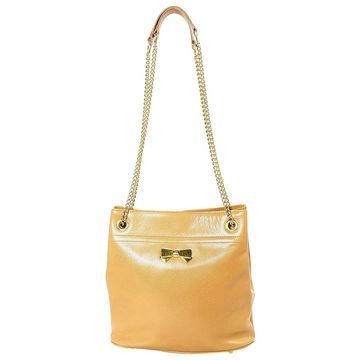 Nina Ricci Beige Leather Handbags