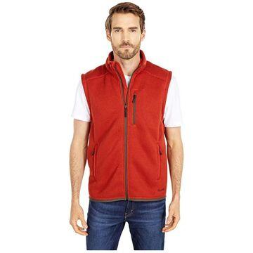 Filson Ridgeway Fleece Vest (Canvas Back) Men's Vest