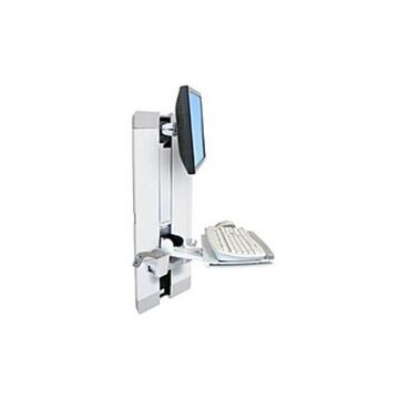 Ergotron StyleView 60-609-216 Vertical Lift Mounting Kit for Flat Panel Monitor - White