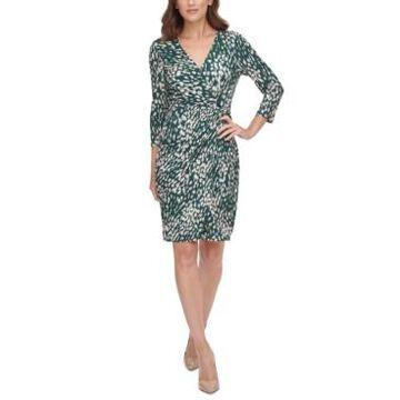 Jessica Howard Side-Twist Sheath Dress
