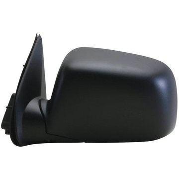 62064G - Fit System Driver Side Mirror for 04-12 Chevy Colorado P-U, GMC Canyon P-U, black, foldaway, Power
