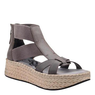 OTBT WomensCannonball Gladiator Sandal Leather Open Toe Casual Platform Sandals - 10