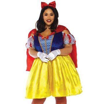 Leg Avenue Womens Plus Size Fairytale Snow White Princess Costume