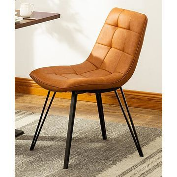 Porthos Home Dining Chairs Brown - Brown Rai Dining Chair Side - Set of Two