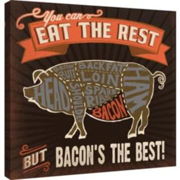 Ptm Images, Best Bacon Decorative Canvas Wall Art