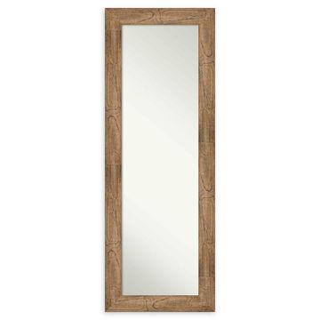 Amanti Art Owl Brown Framed On The Door Mirror