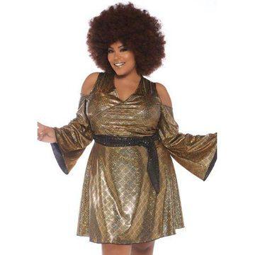Leg Avenue Womens Plus 70s Disco Costume