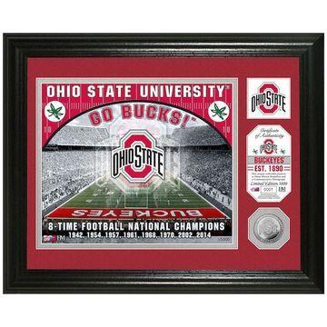 Highland Mint Ohio State Buckeyes Stadium Framed Photo