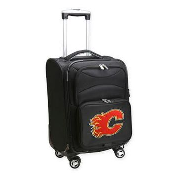 NHL Calgary Flames 20-Inch Carry On Spinner