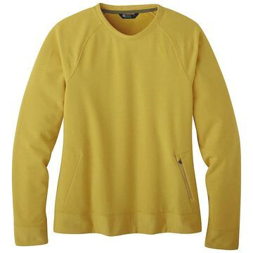 Outdoor Research Women's Emersion Fleece Crew - Small - Beeswax