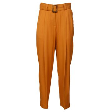 PT01 Belted High Waist Trousers