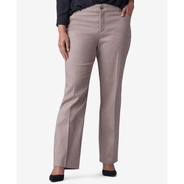 Plus & Petite Plus Size Straight-Leg Madelyn Trousers