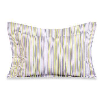 Glenna Jean Lulu Large Pillow Sham in Multi Stripe