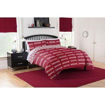Indiana Hoosiers 5-Piece Queen Bed in a Bag Comforter Set Multi