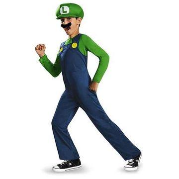 Morris Costumes Halloween Outfit Luigi Classic Child 7-8