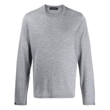 mottled knit jumper
