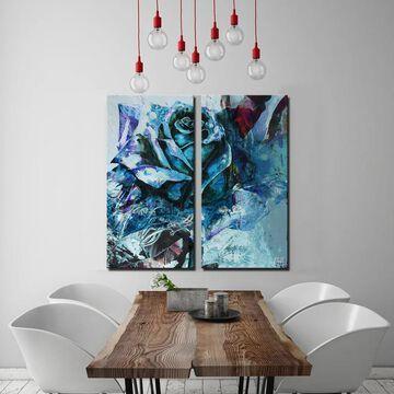 Ready2HangArt 'Painted Petals XXXIXI' 2-Piece Canvas Wall Art Set