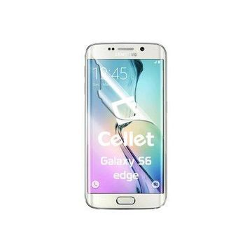 Cellet Full Coverage Flexible Film Screen Protector for Samsung Galaxy S6 edge
