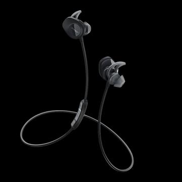 Bose SoundSport Wireless Headphones Refurbished Black