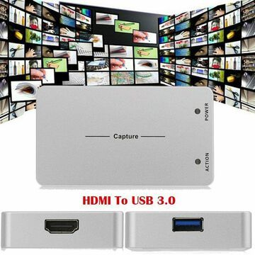 Live Stream HD 1080P HDMI to USB 3.0 Video Capture Box Game Recording Windows MY