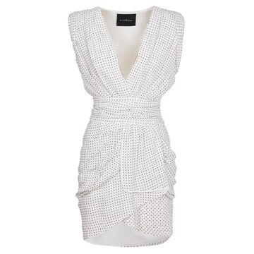 John Richmond White Dress With Silver Studs