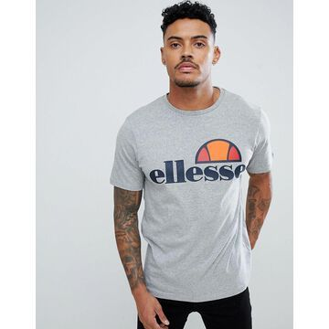 ellesse Prado t-shirt with large logo in gray
