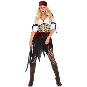 Leg Avenue Women's Sexy Red Pirate Costume