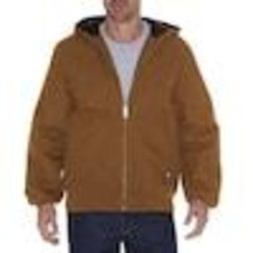 Dickies Brown Duck Duck Work Jacket (Large)