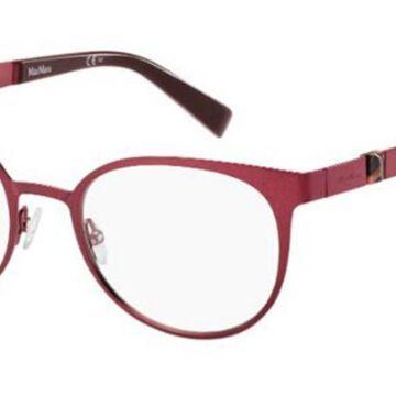 Max Mara MM 1287 BFR Womenas Glasses Pink Size 52 - Free Lenses - HSA/FSA Insurance - Blue Light Block Available