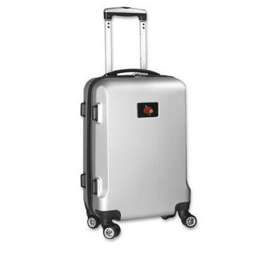 University of Louisville 20-Inch Hardside Spinner Carry On in Silver