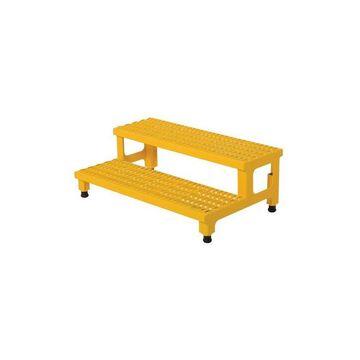 Vestil Adjustable Step Mate Stand 2 Step- 36 x 23 in