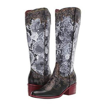 L'Artiste by Spring Step Rodeo (Black Multi) Women's Boots
