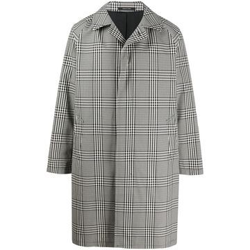 Tagliatore Checked Trench