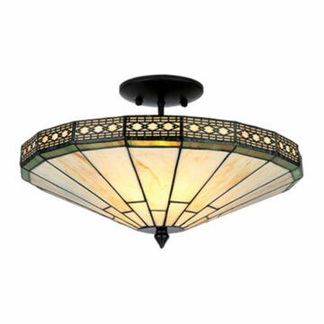 Warehouse of Tiffany Ann TC16B306IV Semi Flush Light