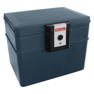 First Alert .62 Cubic Foot Gray Fire & Water File Chest